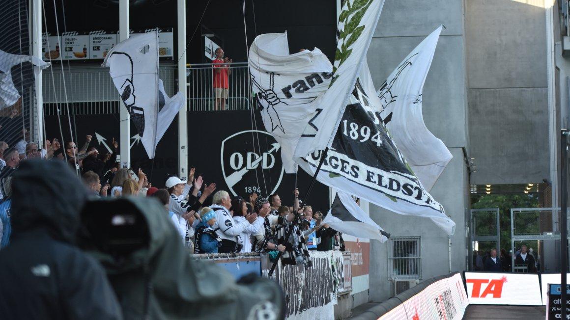 Før kampen: Odd-Lillestrøm
