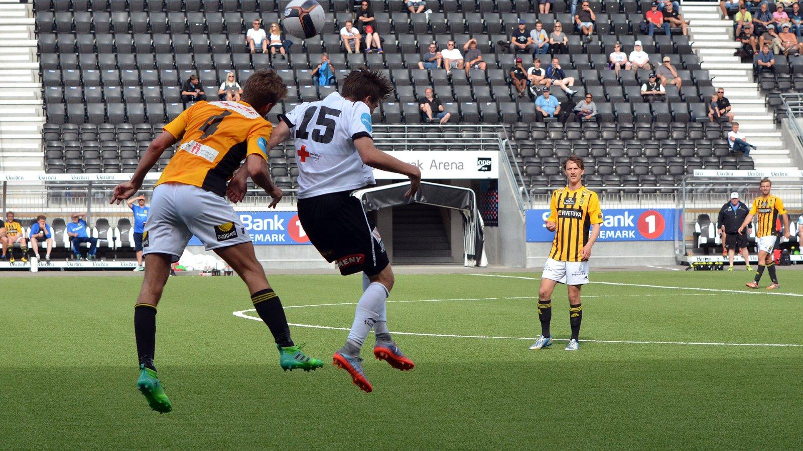 Sigurd Hauso Haugen. Odd 2 - Egersund juni 2017