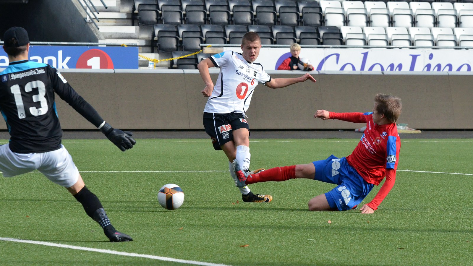 Marius Bustgaard Larsen. Odd 2 - Vard Haugesund okt. -17
