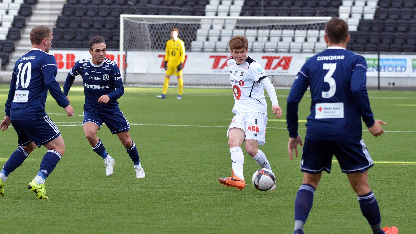 Oliver Berg for Odd 2 mot Arendal