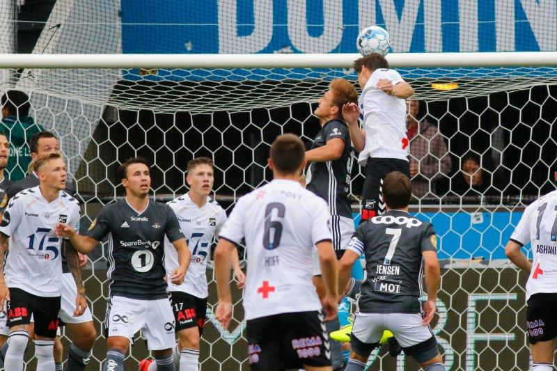 Fra eliteseriekampen i fotball mellom Odd og Rosenborg på Skagerak Arena i 2019. Foto: Tor Erik Schrøder / NTB scanpix