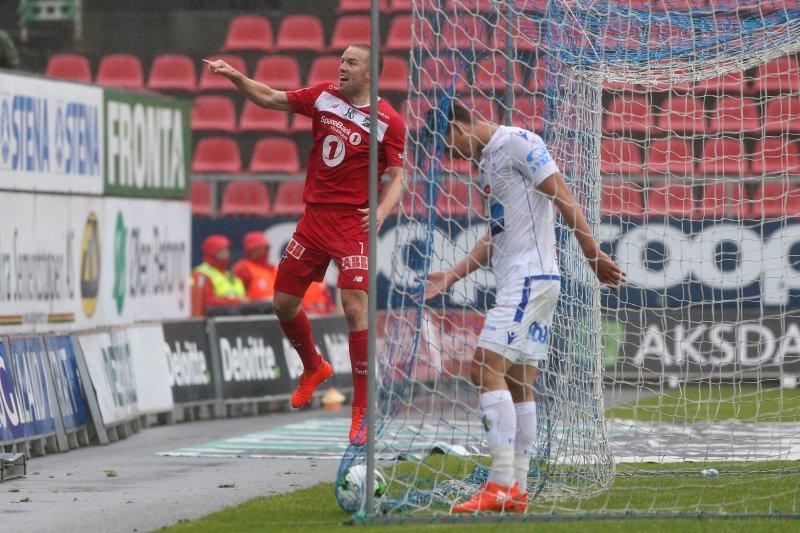 Ruud jubler over 1-0: Foto: Andrew Halseid Budd , Digitalsport