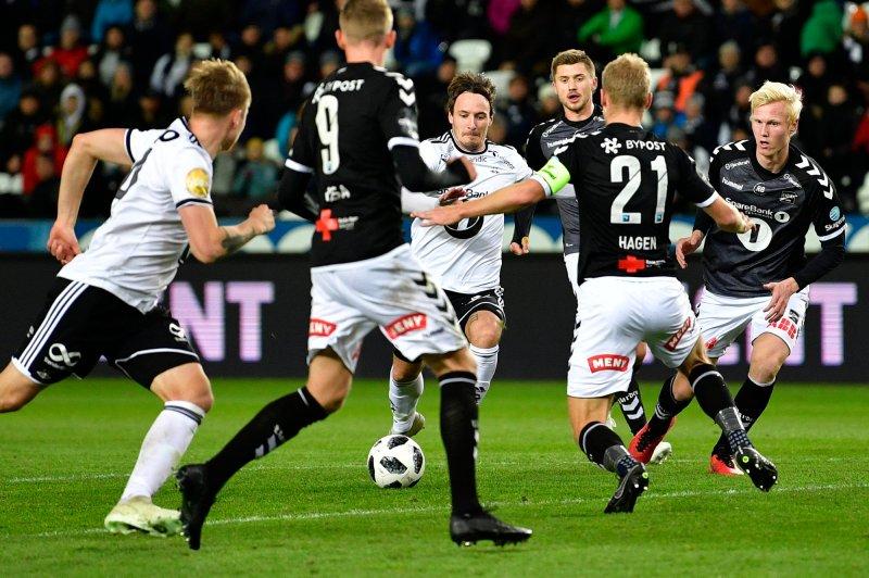 eliteseriekampen i fotball mellom Rosenborg og Odd på Lerkendal Stadion.Foto: Ole Martin Wold / NTB scanpix