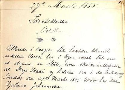 Protokollen fra stiftelsen