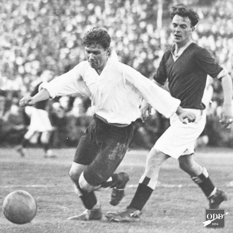 Fra cupfinalen 1931 mot Mjøndalen