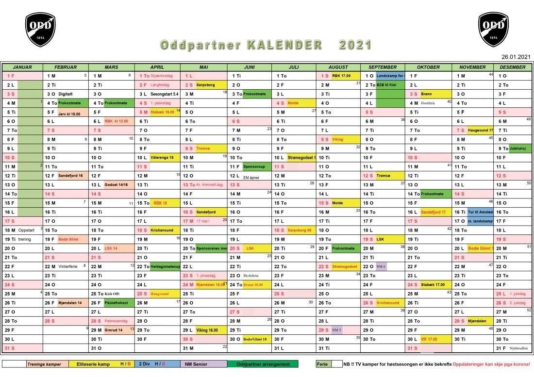 kalender Odd